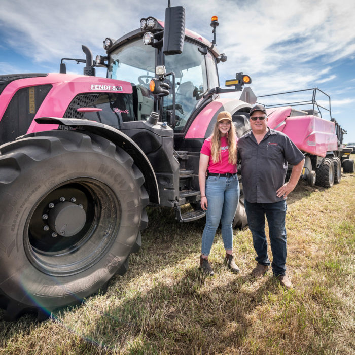 think pink for women in agriculture